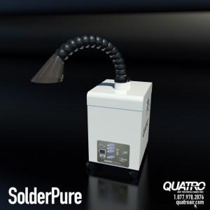 SolderPure · Solder Fume Extractor