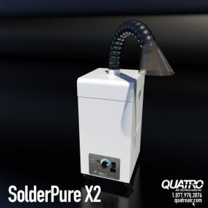 SolderPure X2 · Solder Fume Extractor